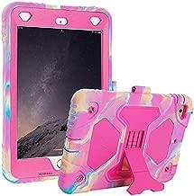 iPad Mini 1 2 3 Case Shockproof Case Ultra Slim Lightweight Stand Case for 7.9 Inch iPad Mini 1 iPad Mini 2 iPad Mini 3 (Camo Pink)