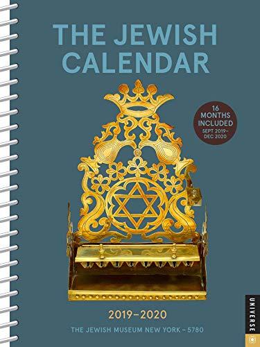 The Jewish Calendar 2019-2020 16-Month Engagement: Jewish Year 5780