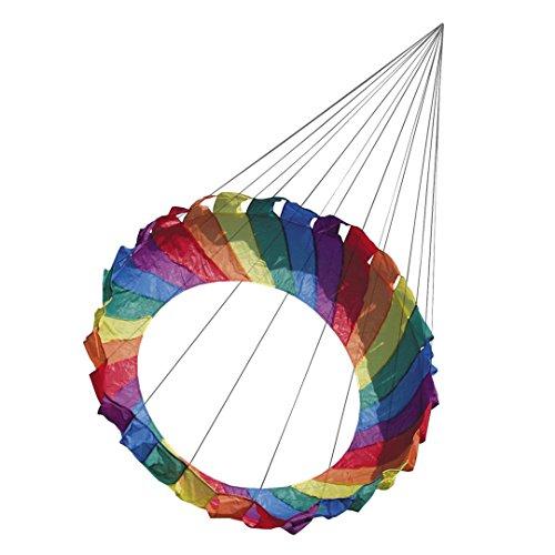HQ Regenbogen-Drachen, rund, 1 m