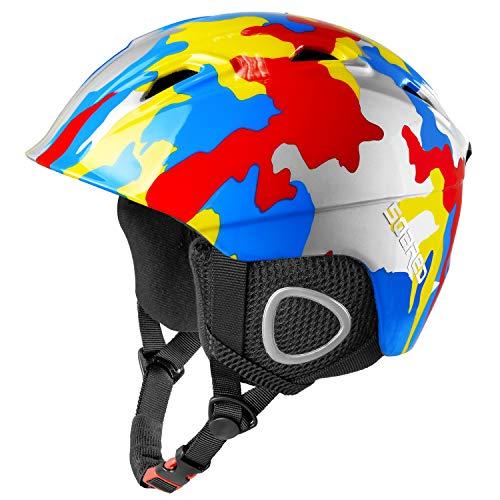 Soared Skihelm Snowboardhelm Herren Damen Kinder Ski Helm mit Winddicht Ohrenschützer Belüftung...