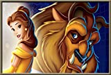 Afabel Belleza y León DIY Nueva Pintura para Números para Adultos Y Niños - Pintura Digital De Bricolaje por Kits De Números sobre Lienzo 40x60cm- sin Marco