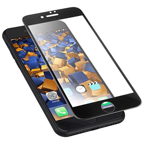 mumbi 3D Hart Glas Folie kompatibel mit iPhone SE 2 2020 Panzerfolie, Schutzfolie Schutzglas (1x)