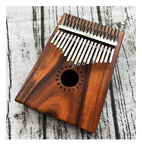 17-Tasten-Daumenklavier, festes Fingerviolett-Klaviermusikinstrument, geeignet für Geschenke