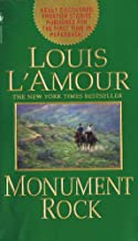 Louis L'Amour - Five Softbound Books: Monument Rock, West of Dodge, Man Riding West, Education of a Wandering Man and Last of the Breed