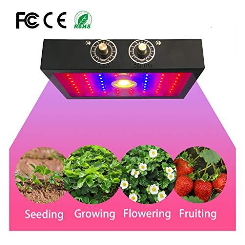 Verlichting voor kamerplanten, lamp voor het kweken van planten 1200 W compleet spectrum kas UV IR lamp cultiveert de lamp voor planten D'Veg en bloem