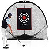 Golf Practice Net for Backyard Golf Hitting Nets Golf Net Practice Golf Net Indoor Outdoor Driving Range 8x7x7FT with Carry Bag and Target