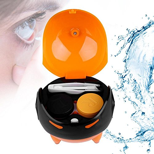 Portable Ultrasonic Automatic Contact Lens Ball Mask Washer Cleansing Lenses Cleaner Lens Case, USB Charge
