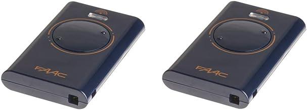 2 FAAC handzender XT2 433 SL XT2433SL *vervangt TML2 433 SLR 433 Mhz TML433SLR * garagedeur afstandsbediening poortopener ...