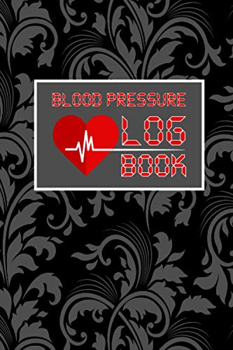 Blood Pressure Log Book: Daily Blood Pressure AM/PM readings and Heart Rate (Pulse) record book -- M