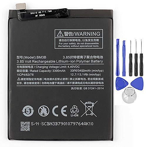 Ellenne Batería compatible con Xiaomi Mi Mix 2-2S BM3B 3400 mAh con kit de desmontaje incluido