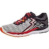 361 Degrees Men's Sensation 3 High Performance Stability Lightweight Running Shoe, White/Black, 10 M US