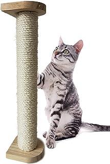 Gifty 猫 つめとぎ ポール 800 大きい 爪とぎ 麻 ケージ サークル 柱 爪研ぎ 猫タワー スリム 多頭飼い しつけ