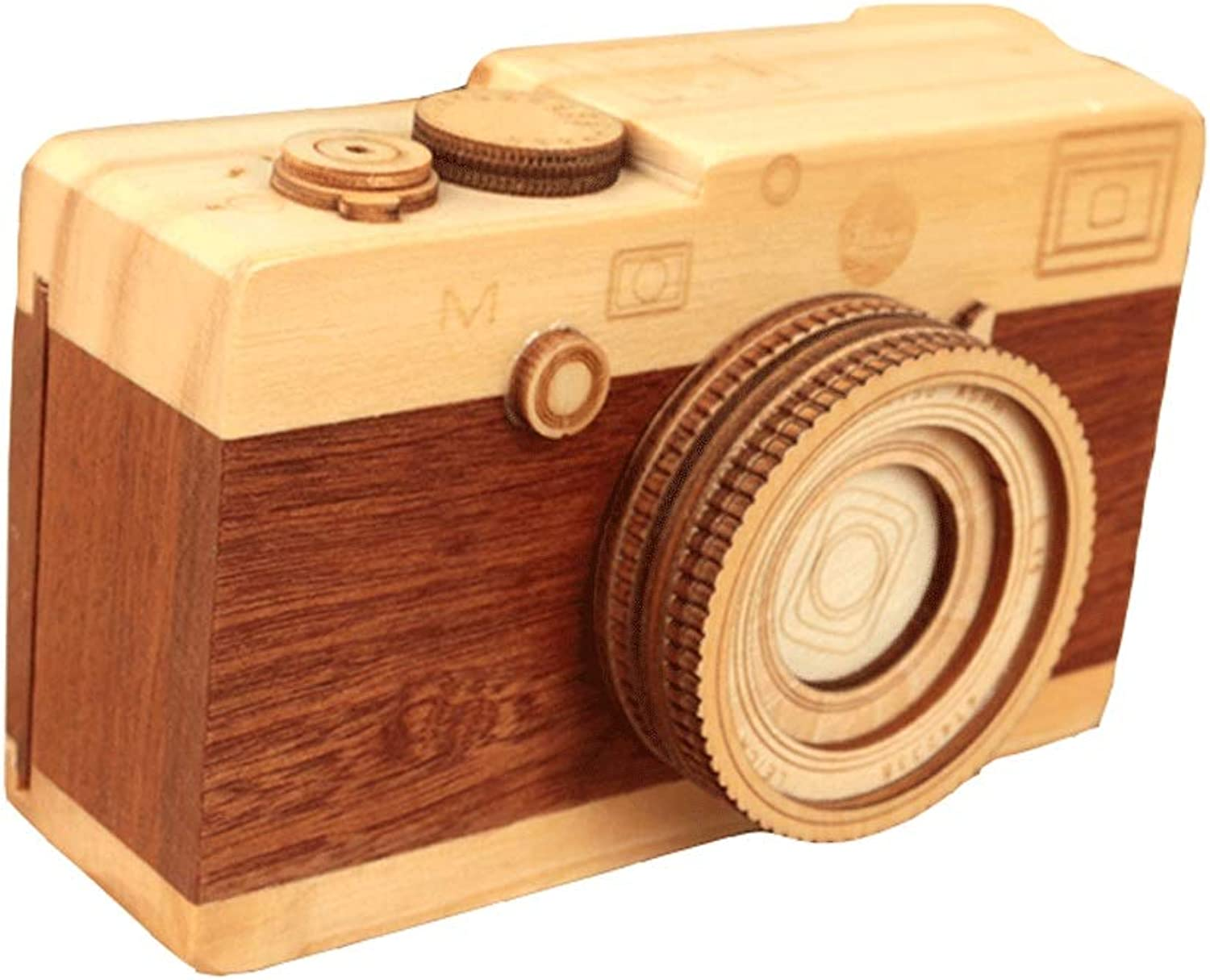 Music Box Retro Wind Photo Music Box Wooden Music Box (Size   S)