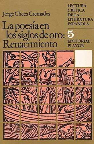 La poesía en los siglos de oro: Renacimiento