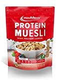 IronMaxx Protein Müsli Schokolade – Veganes Fitness Müsli laktosefrei und glutenfrei – Eiweiß...