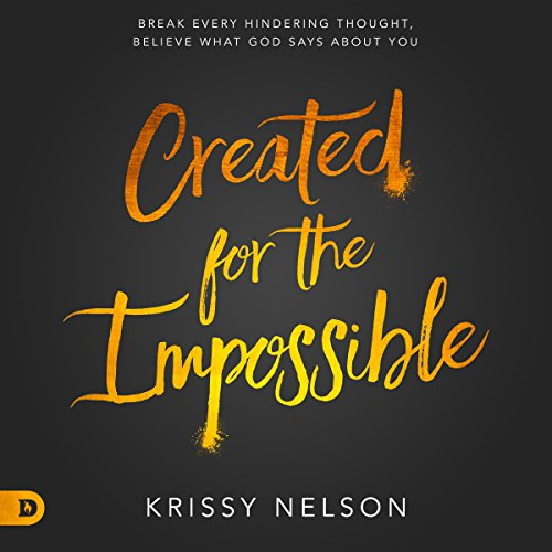 Created for the Impossible audiobook cover art