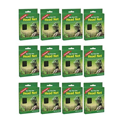 Coghlan's No-See-Um Head Net Ultra-Fine Mesh Mosquito Netting (12-Pack)