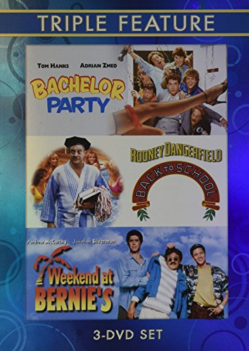 Bachelor Party / Back to School / Weekend At Bernie's (Triple Feature 3 Dvd Set)