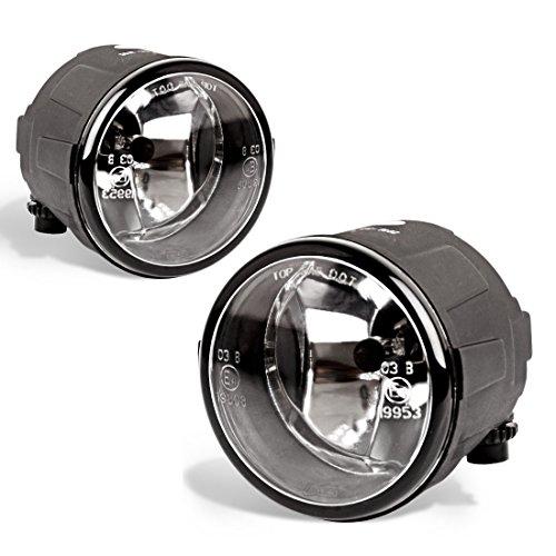 Fog Lights Fit for Nissan Cube Juke Quest Murano Rogue Versa Infiniti FX EX QX M G Q (OE Style Glass Lens w/ H8 12V 35W Bulbs)