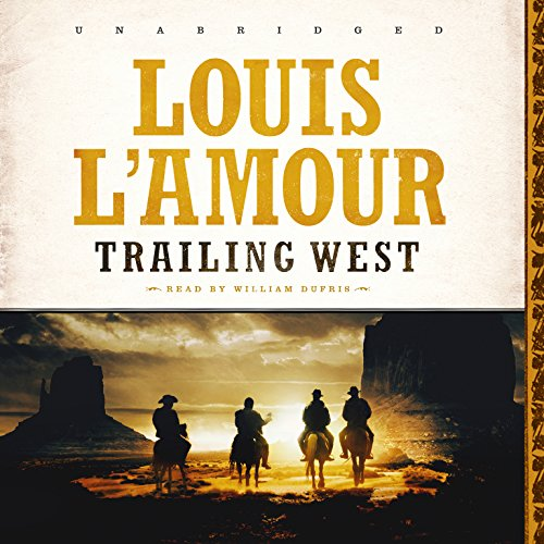 Trailing West audiobook cover art