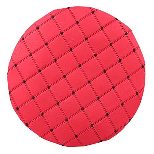 Yinew Housses de chaise rondes pour tabouret, salon, housse de protection élastique pour tabouret de bar, housses amovibles, décoration de la maison, #7