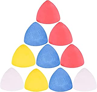 DELFINO Tailor's Chalk, Sewing Chalk, Triangle Chalks, Fabric Marker Chalk Dressmakers Tailor Chalk Sewing Tool for Tailor...