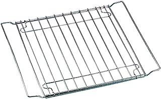 Zenker Backofenrost ausziehbar 37 - 57 x 32,5 cm SPECIAL COOKING, verstellbares Backofen-Gitter für Ofen und Kühlschrank, manuell verstellbarer Gitterrost Farbe: Silber, Menge: 1 Stück