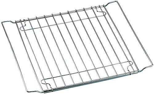 Zenker Backofenrost ausziehbar (37 - 57 x 32,5 cm) SPECIAL COOKING, verstellbares Backofen-Gitter für Ofen und Kühlschrank, manuell verstellbarer Gitterrost (Farbe: Silber), Menge: 1 Stück