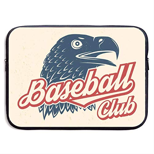 hon-ey WE Laptop-Tasche Baseball Club Abzeichen Konzept für Hemd oder Logo, Print, Stempel Handtasche kompatibel 13-13,3 Zoll & 15 Zoll
