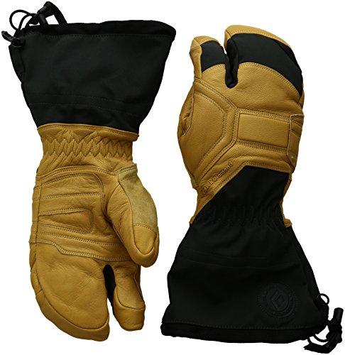 Black Diamond Men's Guide Finger Gloves, Natural, Large