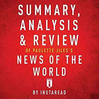 Summary, Analysis & Review of Paulette Jiles's News of the World by Instaread audiobook cover art