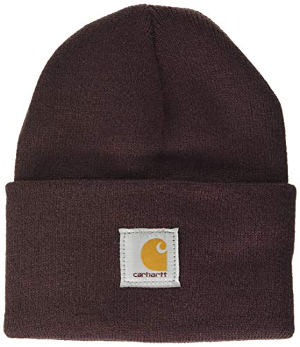 Carhartt Watch Hat Gorro/Sombrero, Deep Wine, OFA Unisex-Adulto