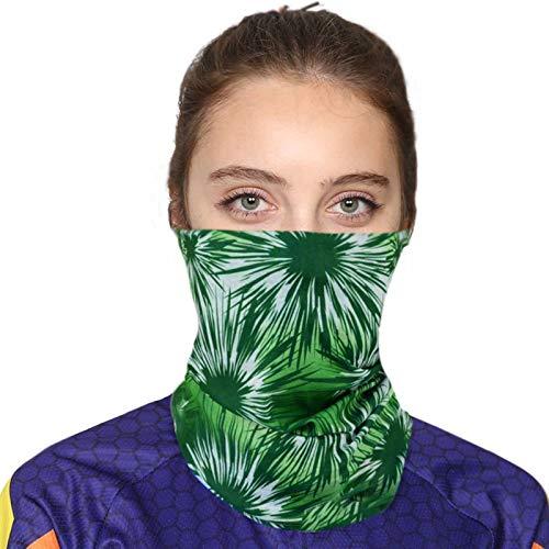 Beydodo Bandana Sportif Foulards de Randonnée Homme Motif Vert Bandana Multifonction Femme Polyester pour Sports de Plein air