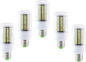 SGJFZD LED Corn Light Bulbs E27 15W 6000K 100 Watt Incandescent Bulbs Equivalent 1200Lm, Non Dimmable Small Edison Screw C...