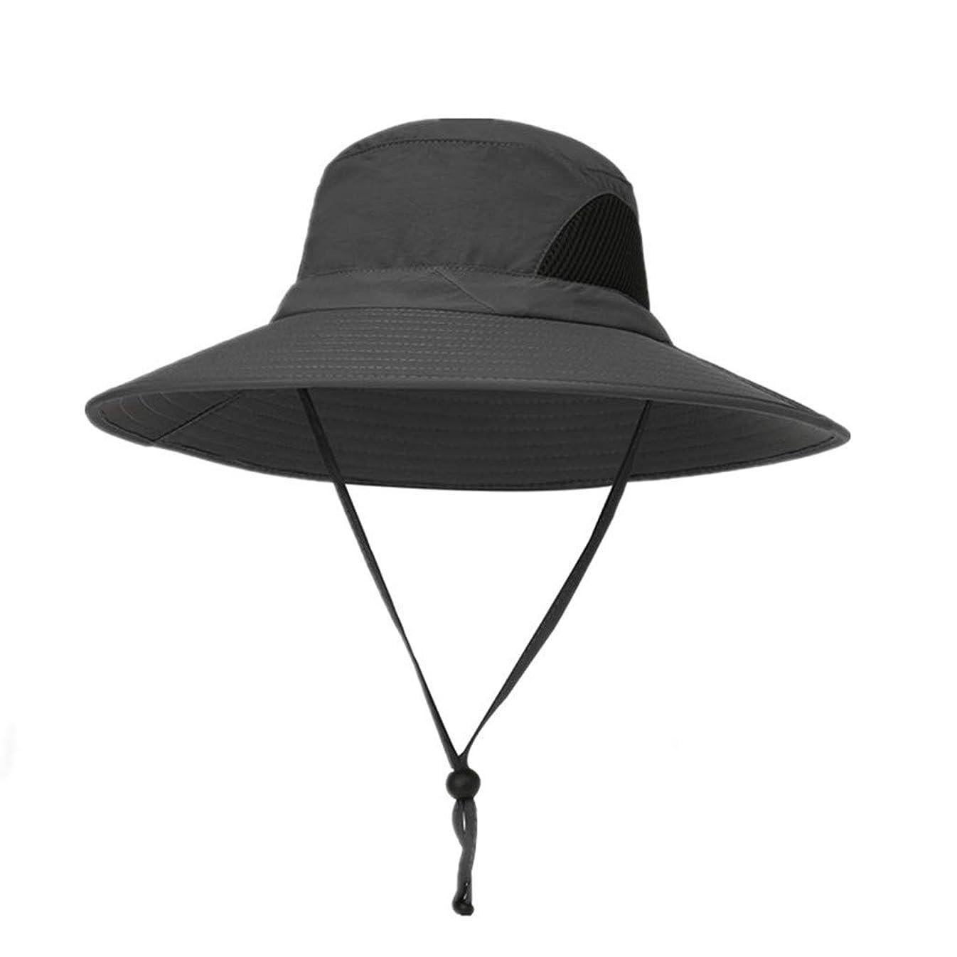 穀物豊富にアミューズROSE ROMAN - 日よけ帽子 uvカット ビッグバイザー 紫外線防止 あごひも付き 強風でも安心 折りたたみ 軽量 持ち運びに便利 取り外すあご紐 つば広 りたたみ サイズ調節可 旅行 自転車 アウトドア 男女兼用