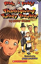 Thanksgiving Chapter Books for Kids - Thanksgiving Turkey Trouble (Ready, Freddy! series)