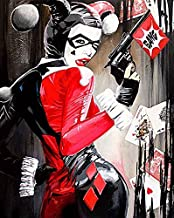 HARLEY QUINN - LIMITED EDITION PRINT- SUICIDE SQUAD - SASH AMEERCHUND - 350GSM - 42X60CM A2