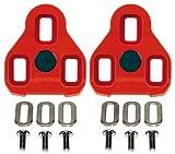 Exustar Tacchetti per Sistema Pedale Road Keo Look Rosso 7 °...