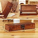 Eiffel Tower Wood Stash Box Vape Storage & Vape Mod Holder Pencil Case