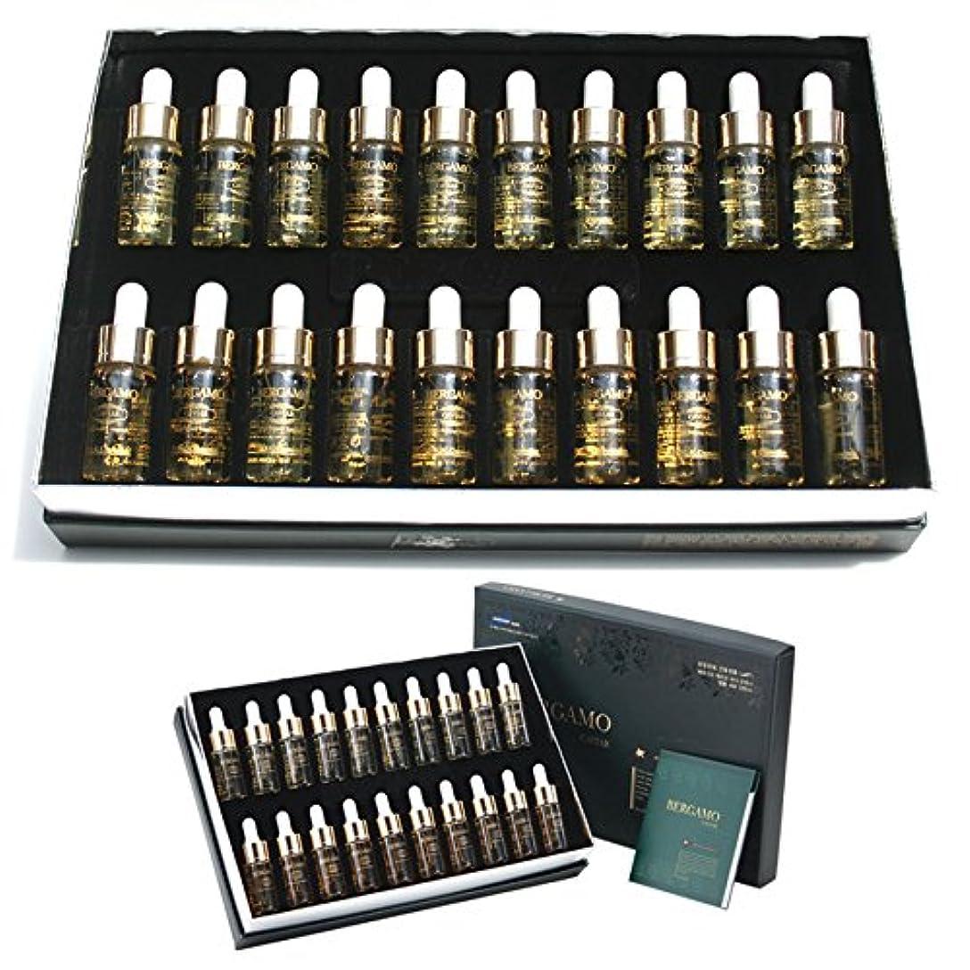補償夜明けに私達[ベルガモ]Bergamo/キャビア高効力のビタミンアンプルセット13ml * 20ea/Caviar High Potency Vitamin Ampoule Set 13ml * 20ea/韓国化粧品/Korean Cosmetics [並行輸入品]