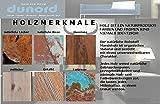 DuNord Design Couchtisch Beistelltisch Algarve Treibholz Massiv Schwemmholz Natur Glastisch - 8