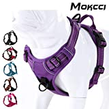 MOKCCI Truelove Soft Front Dog Harness .Best Reflective No Pull Harness with handle