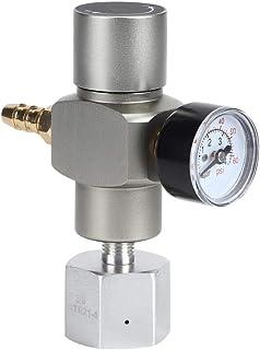 CO2 tryckregulator, 2 i 1 mini CO2 gasregulator soda manometer med adapter 3 / 8in till TR21.4 för Sodastream