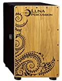 Luna Cajon with Gig Bag, Satin Black