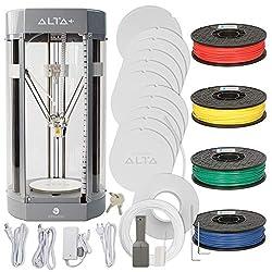 powerful 4-color filament set silhouette Alta Plus 3D printer kit
