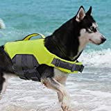 ThinkPet Chaleco Salvavidas para Perros Chaleco Flotante Reflectante Salvavidas Ajustable…