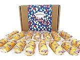 Hostess Twinkies Caja De Regalo De Gran Variedad Americana - 15 Tartas Originales, Especias Y Banana - Cesta Exclusiva Para Burmont's
