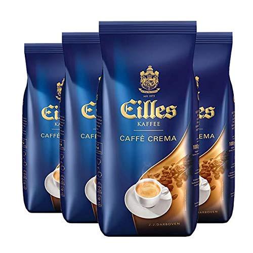 EILLES Kaffee CAFFÈ CREME Ganze Bohne 4 x 1000g