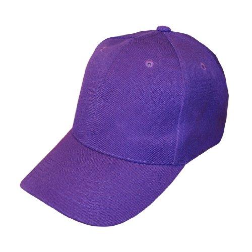 Uni Violet réglable Casquette de baseball X 10