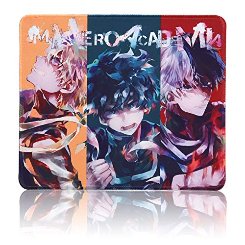 My Hero Academia Mouse Pad for Computer - Anime Gaming Mouse Pad Non Slip Rubber Mat for Computers, Desktop PC Laptop Office Mouse Pad 9.8x11.8x0.12inch (My Hero Academia B1 (9.8x11.8in))